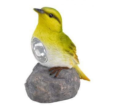 Pájaro mundo amarillo