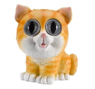 Gato naranja decorativo 16 cm.